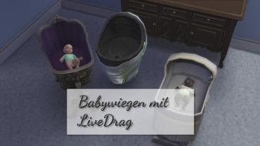 Babywiegen mit LiveDrag