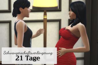 Längere Schwangerschaft: 21 Tage