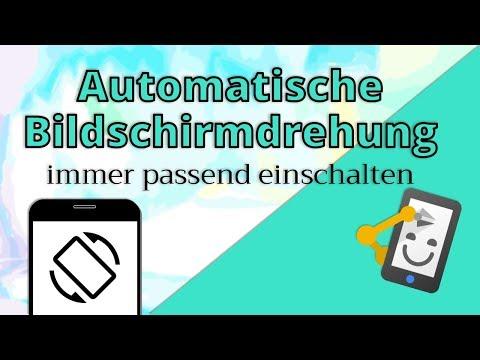 Video: Automatisch Drehen automatisch Steuern!   Automate #2