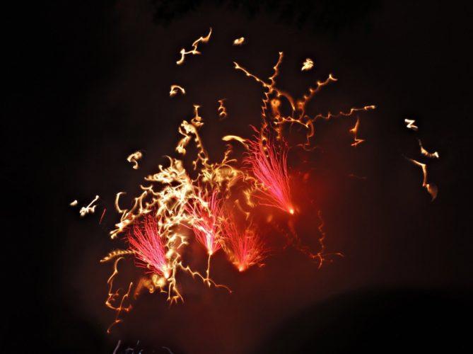 Feuerwerk - Kölner Lichter 2013