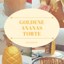 Goldene Ananas Torte
